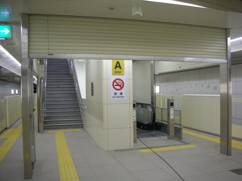 階段区画シャッターイメージ
